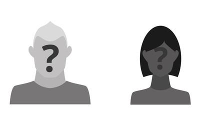 Mann und Frau mit Fragezeichen im Gesicht