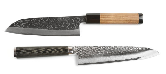 Pair of high quality japanese knifes
