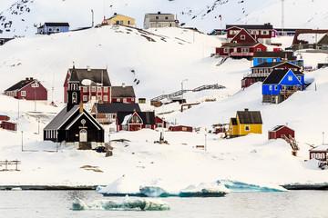 Ilulissat city view