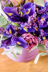 Garden Poster Pink spring bouquet