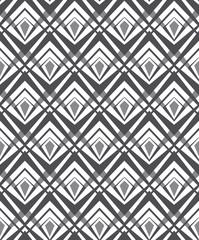 optical art pattern seamless background black and white
