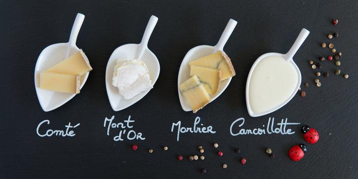 fromages de franche comté