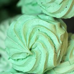 Green sweet delicacy