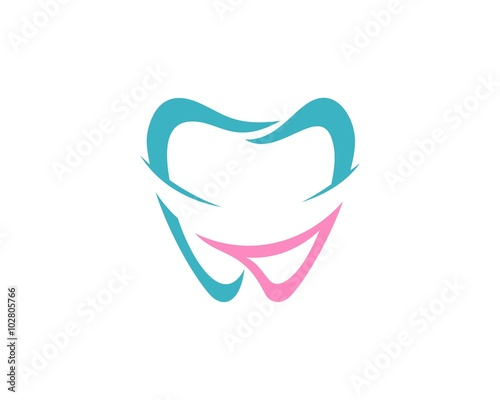 quotsmile lips tooth dental logoquot stock image and royalty
