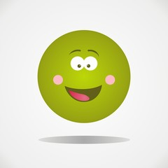 Smiley face emoticon