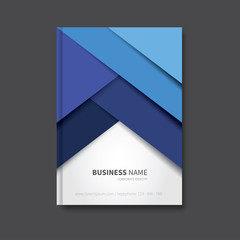 professional book design / modern vector brochure background, cover for report, corporate