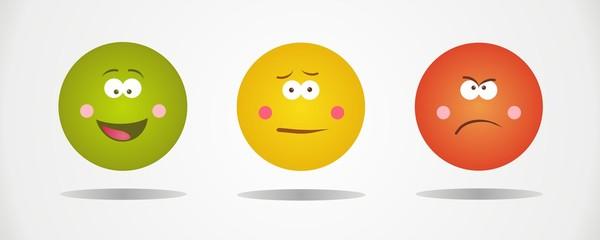 Emoticons different faces