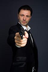 Gunman costume, police or criminal