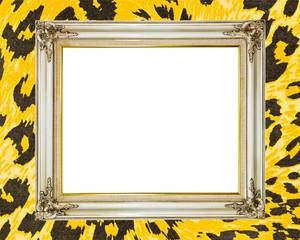 Blank old vintage frame