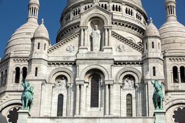 Basilica of the Sacre Coeur on Montmartre, Paris, France