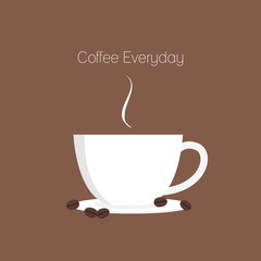 Coffee cup everyday