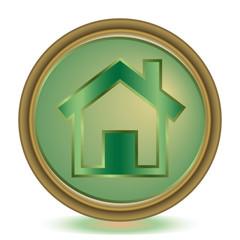 Home emerald color icon