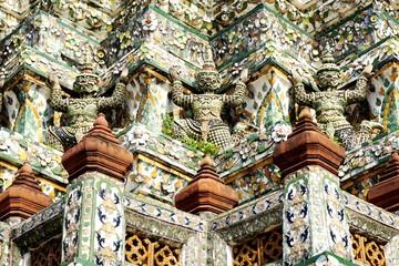 The Wat Arun Buddhist temple in Bangkok