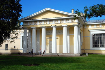 One of the buildings of the Academy of Arts, St. Petersburg