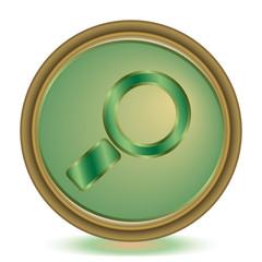Search emerald color icon
