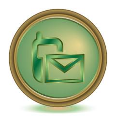 SMS emerald color icon