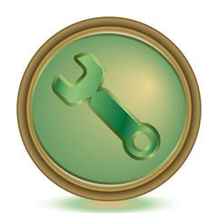 Tools emerald color icon