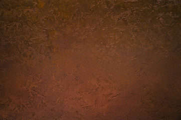 Grunge background from copper