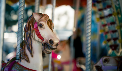 horse merry go round