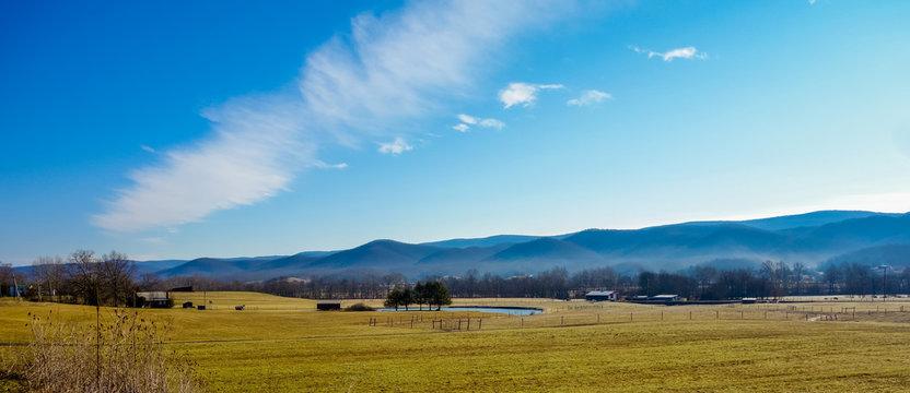 west virginia mountain landscapes