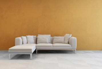 Modern modular corner design settee