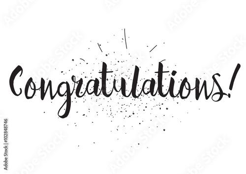 congratulations graphic