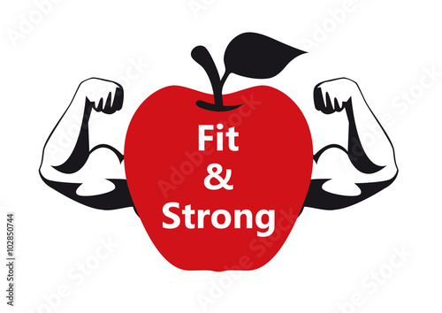 how to become healthy fit and strong