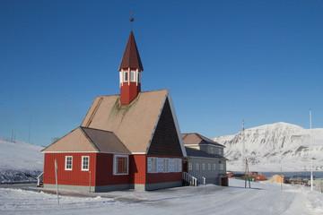 Mechanisms of old system to transport coal in Longyearbyen, Spitsbergen