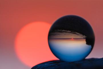 Reflected of coast