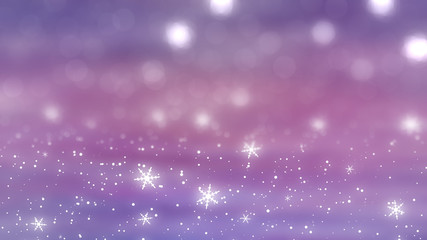Christmas pink background. the winter background