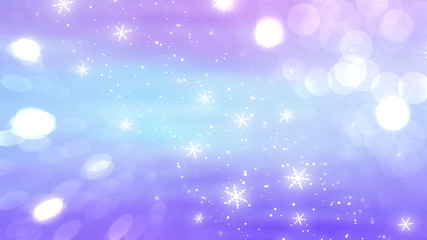 Christmas violet background. The winter background