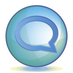 Icon Comments color of aqua