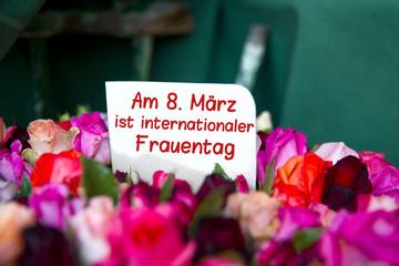 Am 8. März ist internationaler Frauentag
