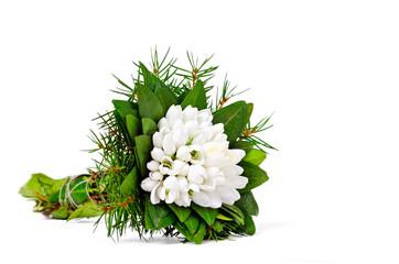 snowdrop flower bouquet
