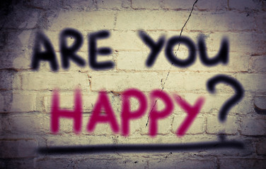 Are You Happy Concept