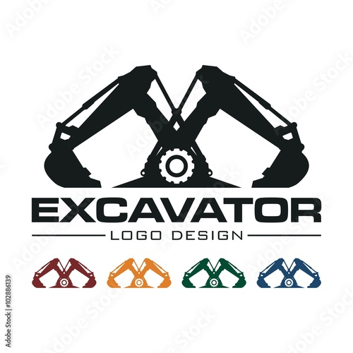 Heavy Equipment Excavation Business Looking for Logo
