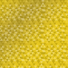 triangle shape pattern golden