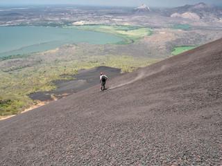 Volcan Momotobo in the near of Leon