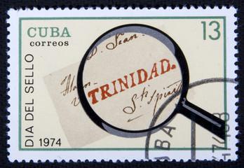 Кубинская почтовая марка, 1974 год