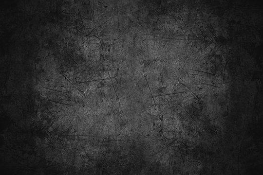 black scratched metal texture