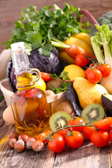 fruit and vegetable, diet food