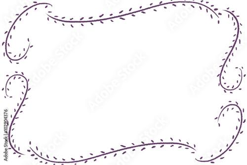 Creative Illustration And Innovative Art Simple Floral Minimalist Border Card Realistic Fantastic Cartoon Style