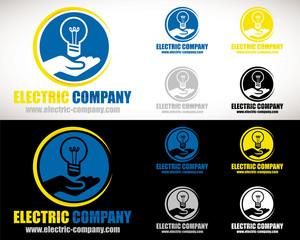 logo électricien artisan société