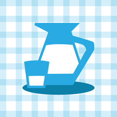 A glass and a jug Vector EPS10, Great for any use.