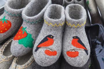 russian winter footwear