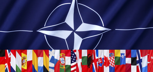 The 28 Flags of NATO - Page header