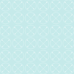 Blue Arrow Cross Background Pattern Vector EPS10, Great for any use.
