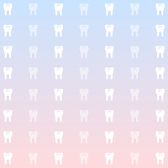 Pastel Tooth Background Vector EPS10, Great for any use.