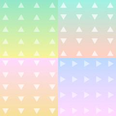 Triangles pattern background Vector EPS10, Great for any use.