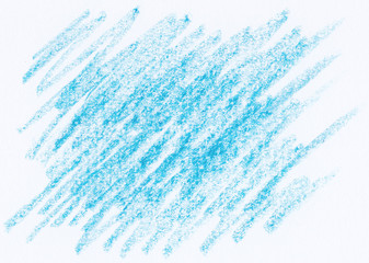 crayon drawings textures background in blue color